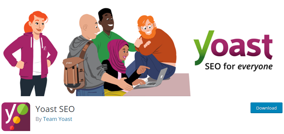 Plugin 1 - Yoast SEO - Plugins for Business Promotion