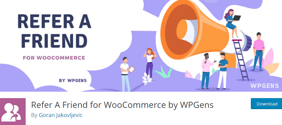 Plugin 4 - Refer a friend for WooCommerce - Plugins for Business Promotion