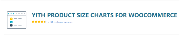 Plugin 2 - YITH Product Size Charts For WooCommerce - one of Top 15 WooCommerce size guide plugins