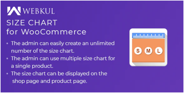 Plugin 6 - Product Size chart Plugin for WooCommerce - one of Top 15 WooCommerce size guide plugins