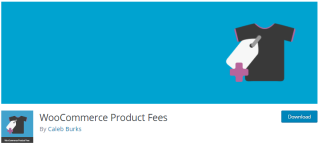 WooCommerce Product Fees plugin for WooCommerce