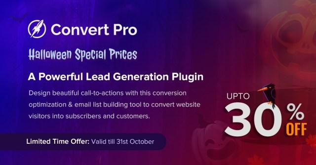 Convert Pro Get 30% OFF on Agency Bundle