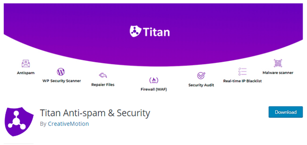 Plugin 3 - Anti-Spam by webvitaly - One of the best Antispam Plugins for WordPress websites