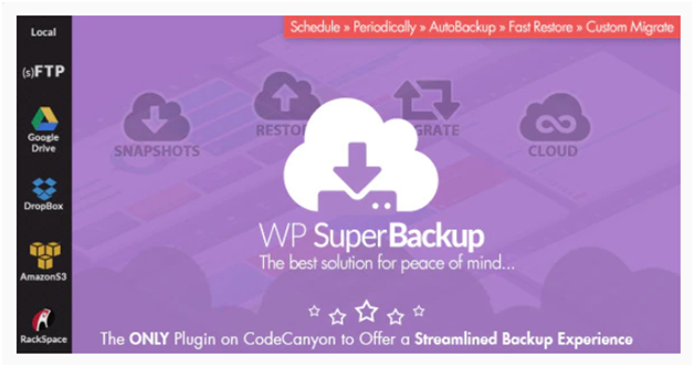 Plugin 2 - WP SuperBackup - One of the most Powerful WordPress Migration Plugins