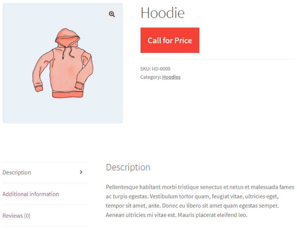 Call for Price Pro for WooCommerce