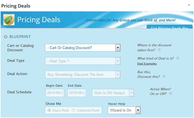 Pricing Deals for WooCommerce [Plugin 1 of Top 20 Free WooCommerce Discounts Plugins]