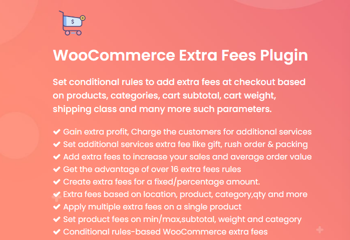 WooCommerce Extra Fee Plugin [Plugin 5 of Top 20 Free WooCommerce Discounts Plugins]