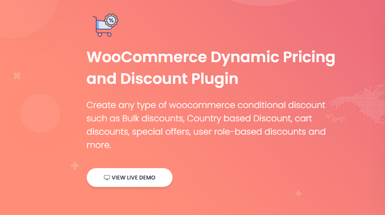 WooCommerce Dynamic Pricing and Discount Plugin [Plugin 2 of Top 20 Free WooCommerce Discounts Plugins]