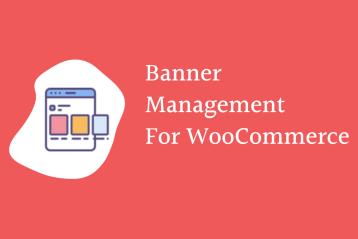 Banner management in WooCommerce