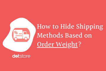 Hide Shipping Methods Based on Order Weight